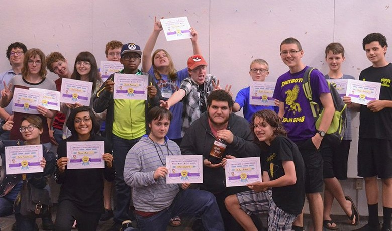 2017 Teen Game Workshop a Success!