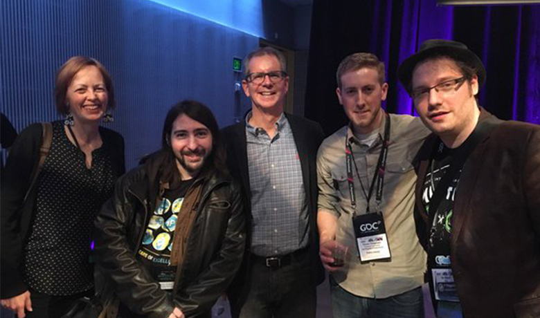 Meeting Chris Buck at GDC!